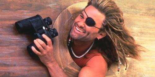 Kurt Russell in Captain Ron, 1992.