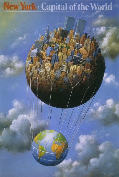 rafal_olbinski_new_york-capital_of_the_world